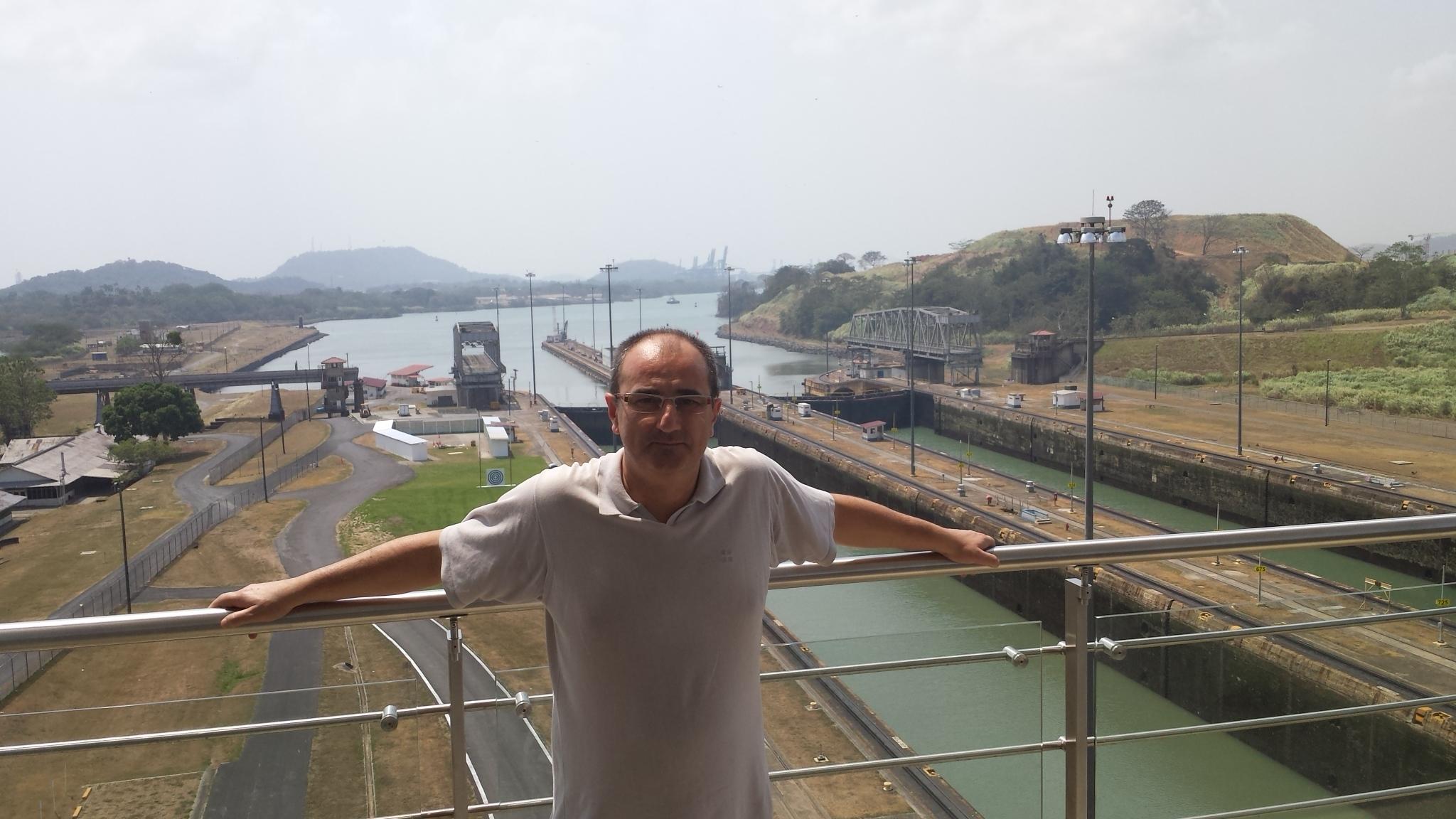 En el Canal de Panamá