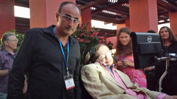 Con Stephen Hawking