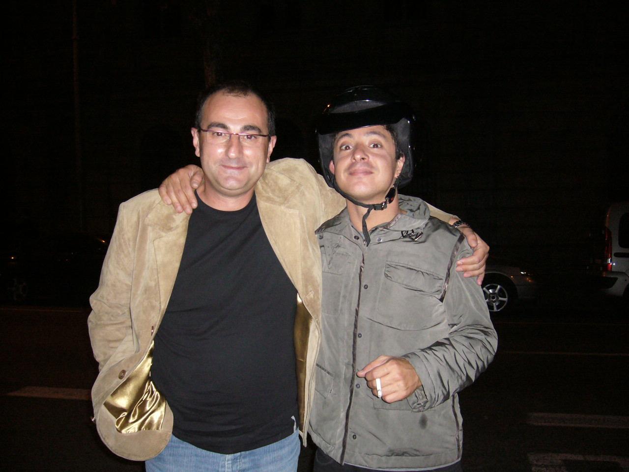 Con JC Ortega