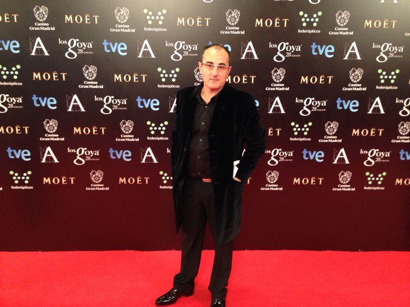 Alfombra roja de los Premios Goya.