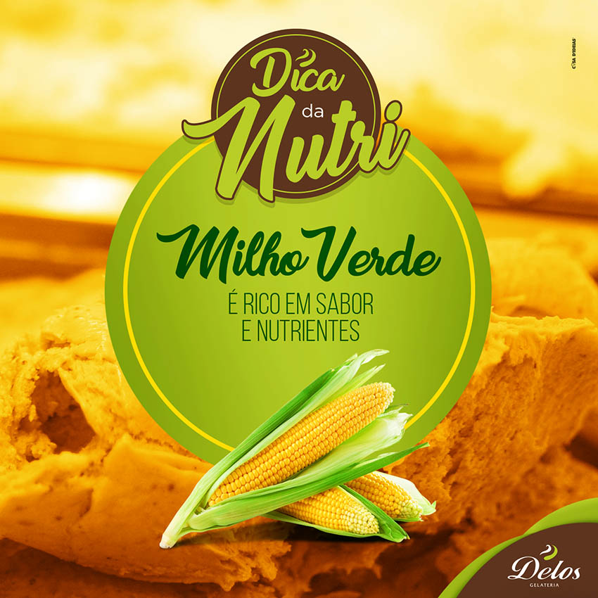 Delos - Post Dicas da Nutri - Milho Verde