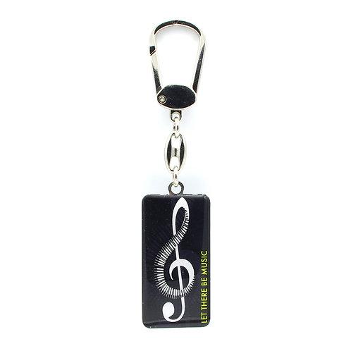 Müzik Notası Anahtarlık