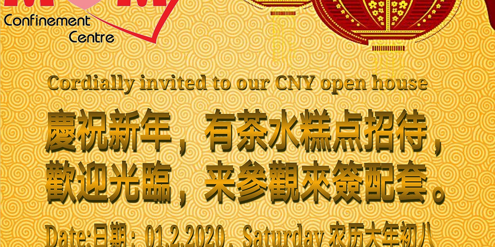 Chinese New Year open house