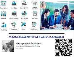 Management assistant JOB