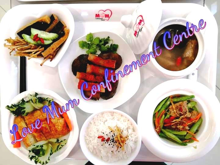 Love Mum Confinement Meals
