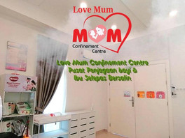 Disinfectant Process - Love Mum Confinement Centre