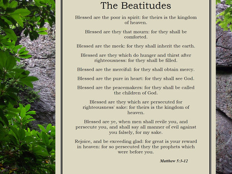 The Concluding Beatitude