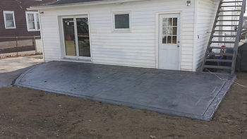 stamped concrete floor in binghamton, ny