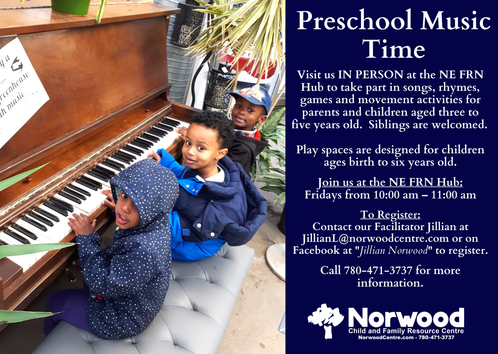 Preschool Music Time NE