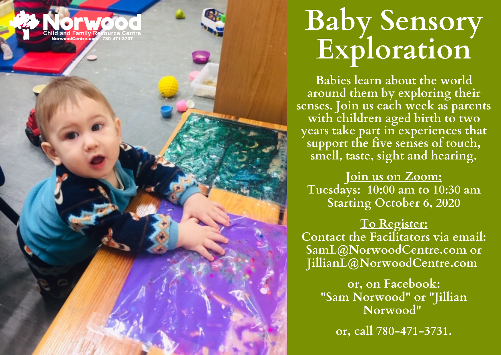 Baby Sensory Exploration