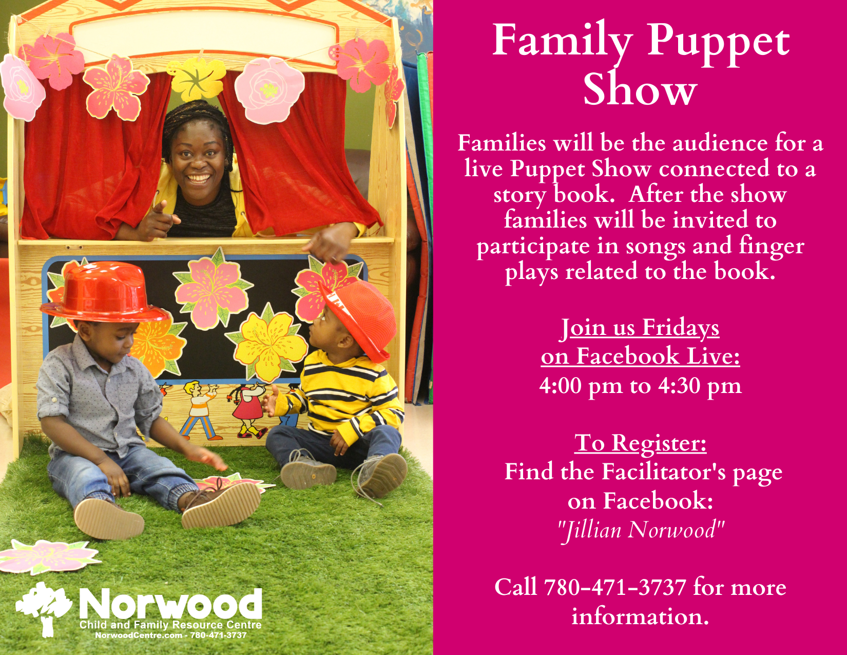 Family Puppet Show