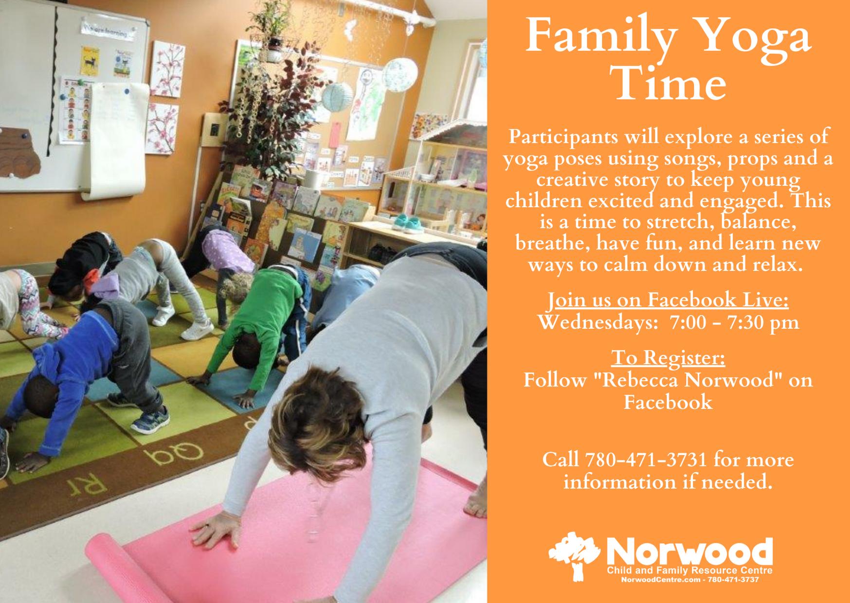 Family Yoga Time NE
