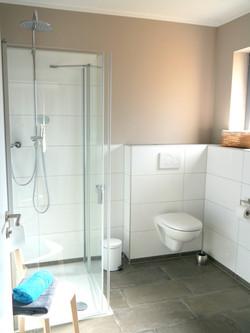 Ferienhaus Badezimmer