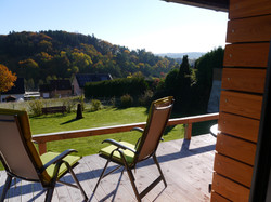 Ferienhaus Terrasse Aussicht