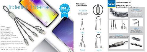 Trident series aluminum cable