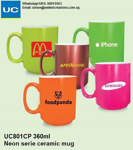 UC801CP 360ml neon series ceramic mug