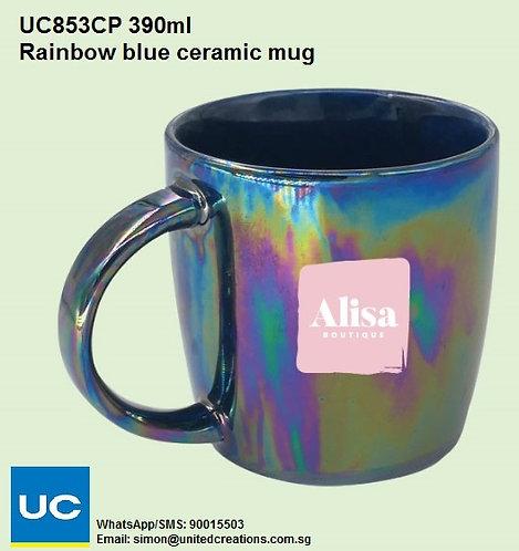 UC853CP 390ml Rainbow ceramic mug