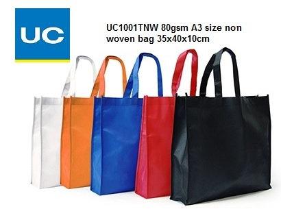 UC1001TNW 80gsm A3 non woven bag