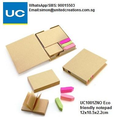 UC1001ZNO Eco friendly notepad