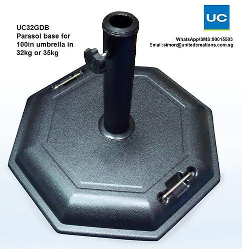 UC32GDBParasol base for 100in umbrella in 32kg or 35kg