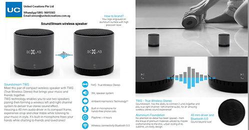 SoundStream wireless speaker