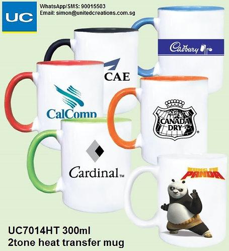UC7014HT 300ml 2tone heat transfer mug