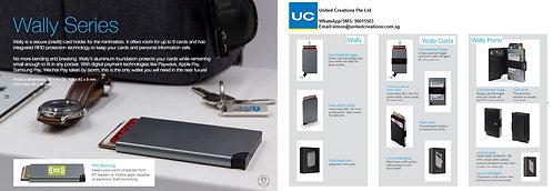 Wally series RFID card holder