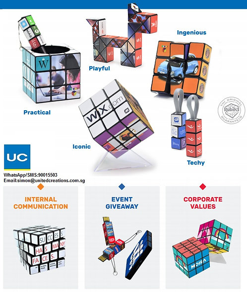 Customization Rubiks for all occasions