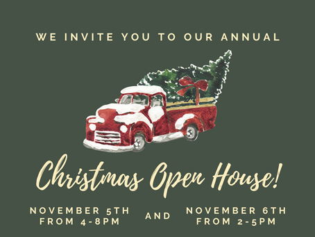Simple Blessings Announces it's Annual Christmas Open House