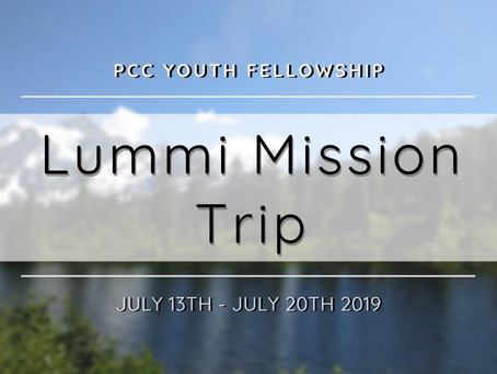 2019 Lummi Mission Trip 青年團契短宣 - Lummi