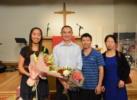 2019 Summer Baptism 暑期浸禮