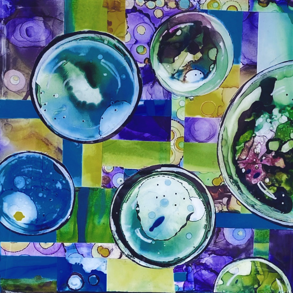 Colourful Bubbles 1