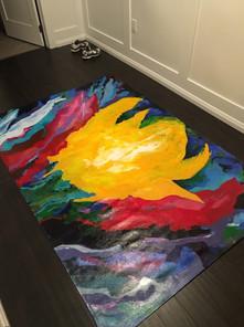 Spring floorcloth