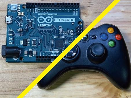 使用Arduino當作Xbox搖桿
