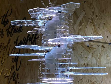 冰晶聖誕樹,製作過程!