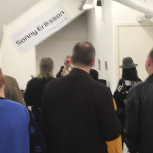 Adamski opening Working Britain at New Art Projects