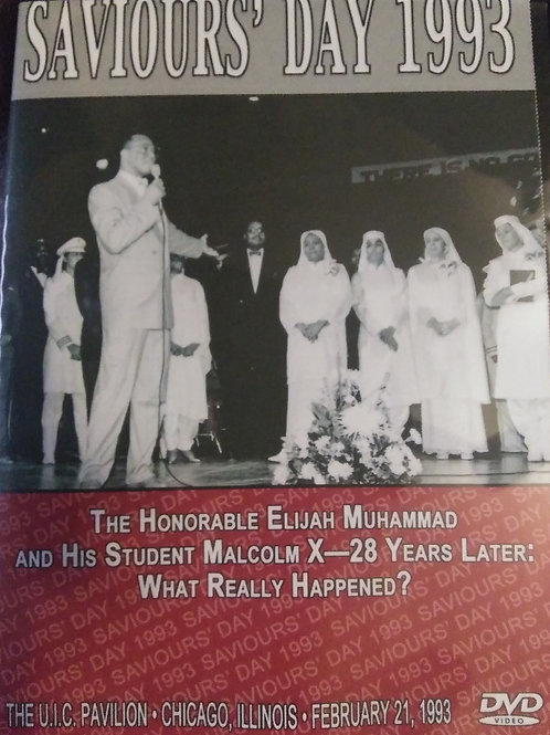 DVD 2 Part: The Honorable Elijah Muhammad + His Student, Malcolm X: 28 Years L