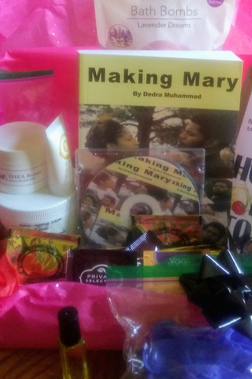 Making Mary Covid-19 Gift Basket