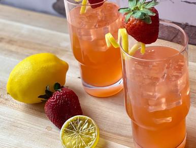 Tequila Strawberry Lemonade