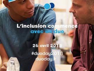 Participez à DuoDay, l'inclusion commence avec un duo!
