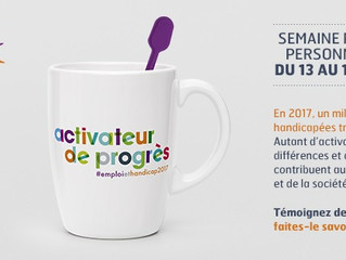 21ème semaine pour l'emploi des personnes handicapées : Actiphe-Sime organise une matinale le 14