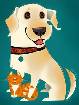 illustration-cartoon-yellow-labrador-retriever-dog-cat-friend-pet-portrait-animal-character-cute.jpg