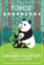 zoo panda illustration