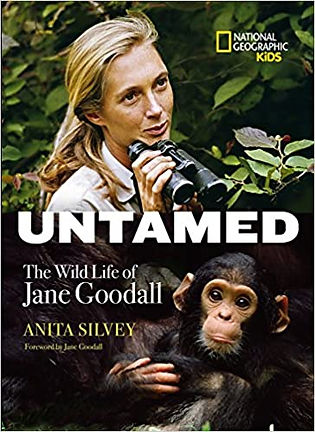 Plant illustrations for UNTAMED the Wild Life of Jane Goodall