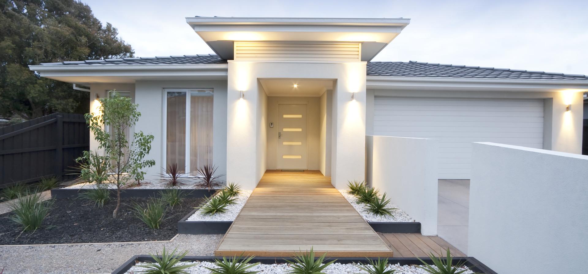 Modernes Haus außen