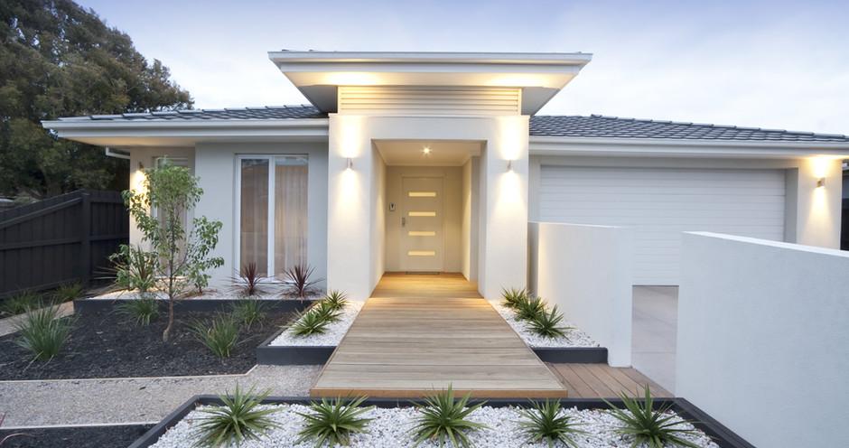 Moderní dům exteriéru