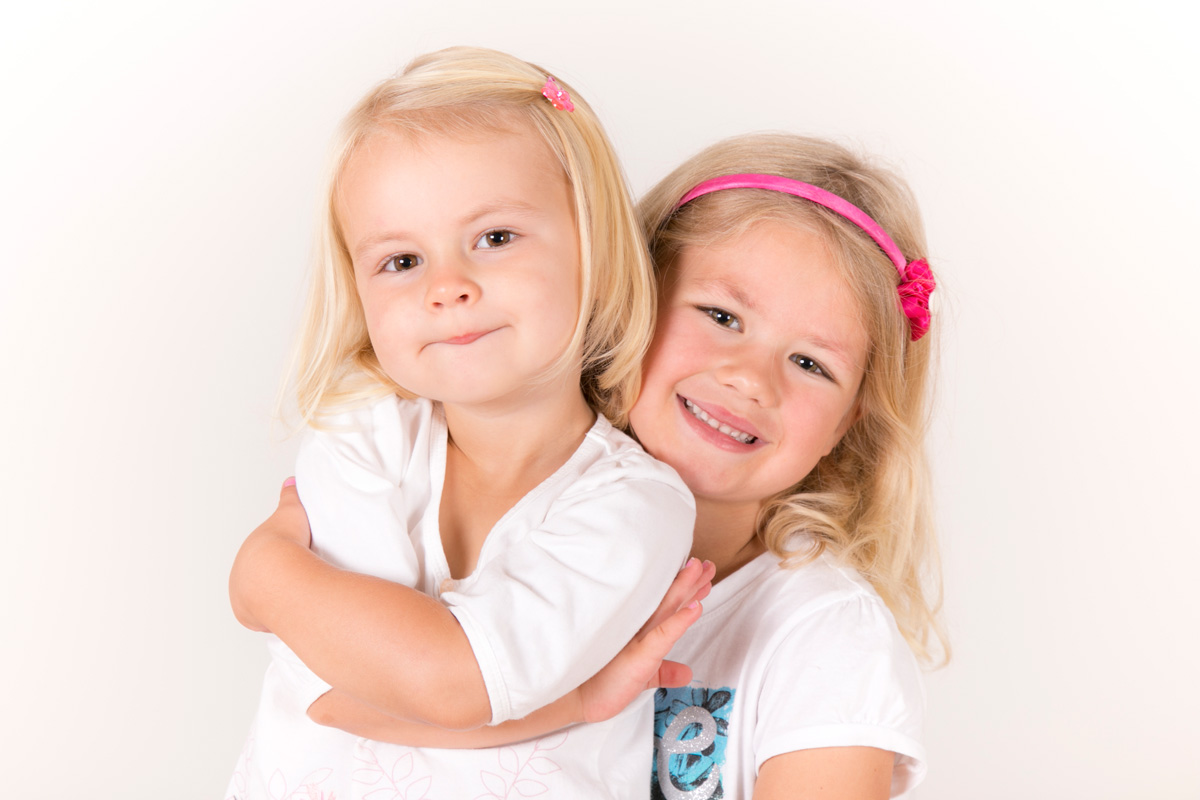 Studio kids portrait
