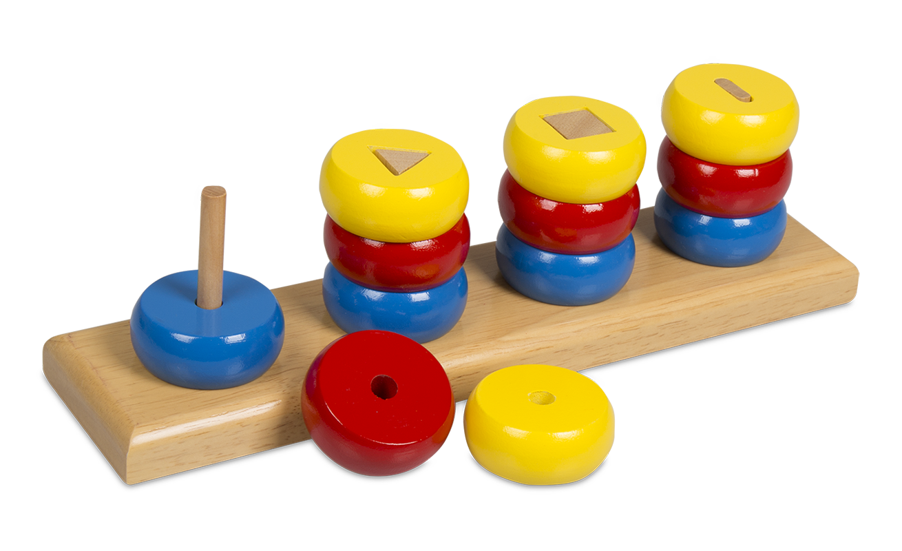 Montessori RingStacker_Shapes