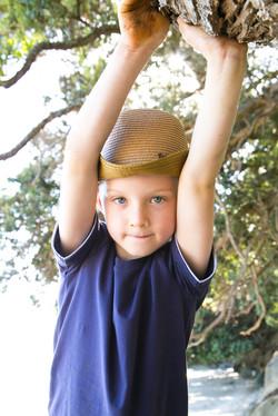 outdoor kids portrait