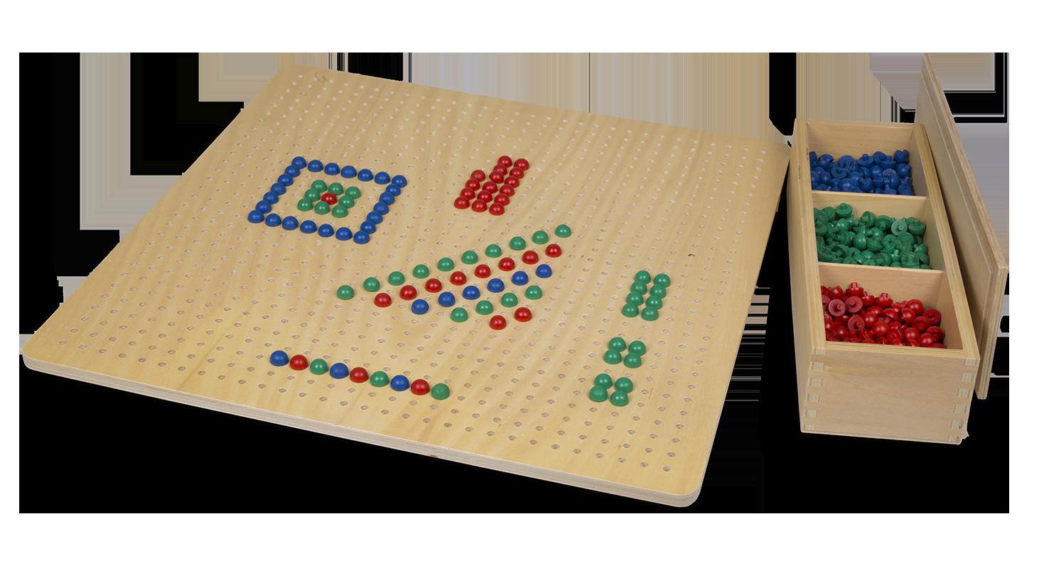 MontessoriLargePegBoard
